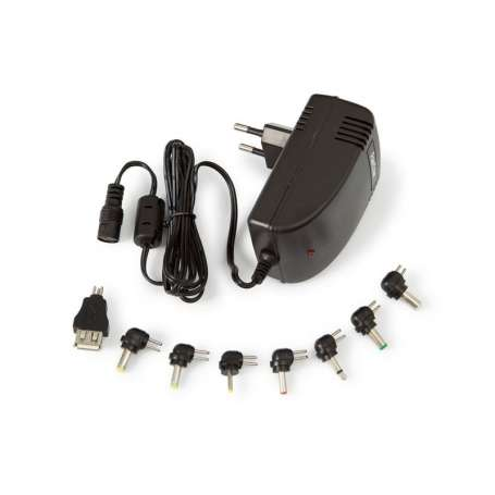 p Adaptadores CA CC de alta eficiencia energetica Conmutados yestabilizados con protecciones conectores intercambiables para la